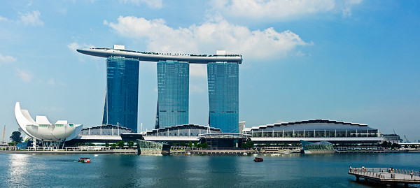 Marina Bay Sands hotel and casino, Singapore