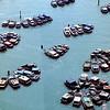 Moored at sea - Singapore
