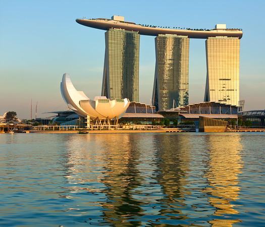 Marina Bay Sands hotel and casino, Singapore