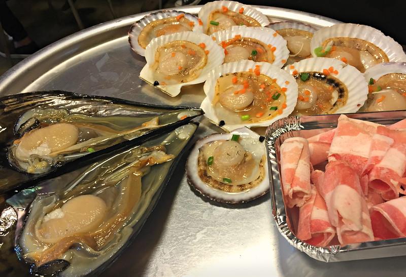 Gwangalli seafood BBQ