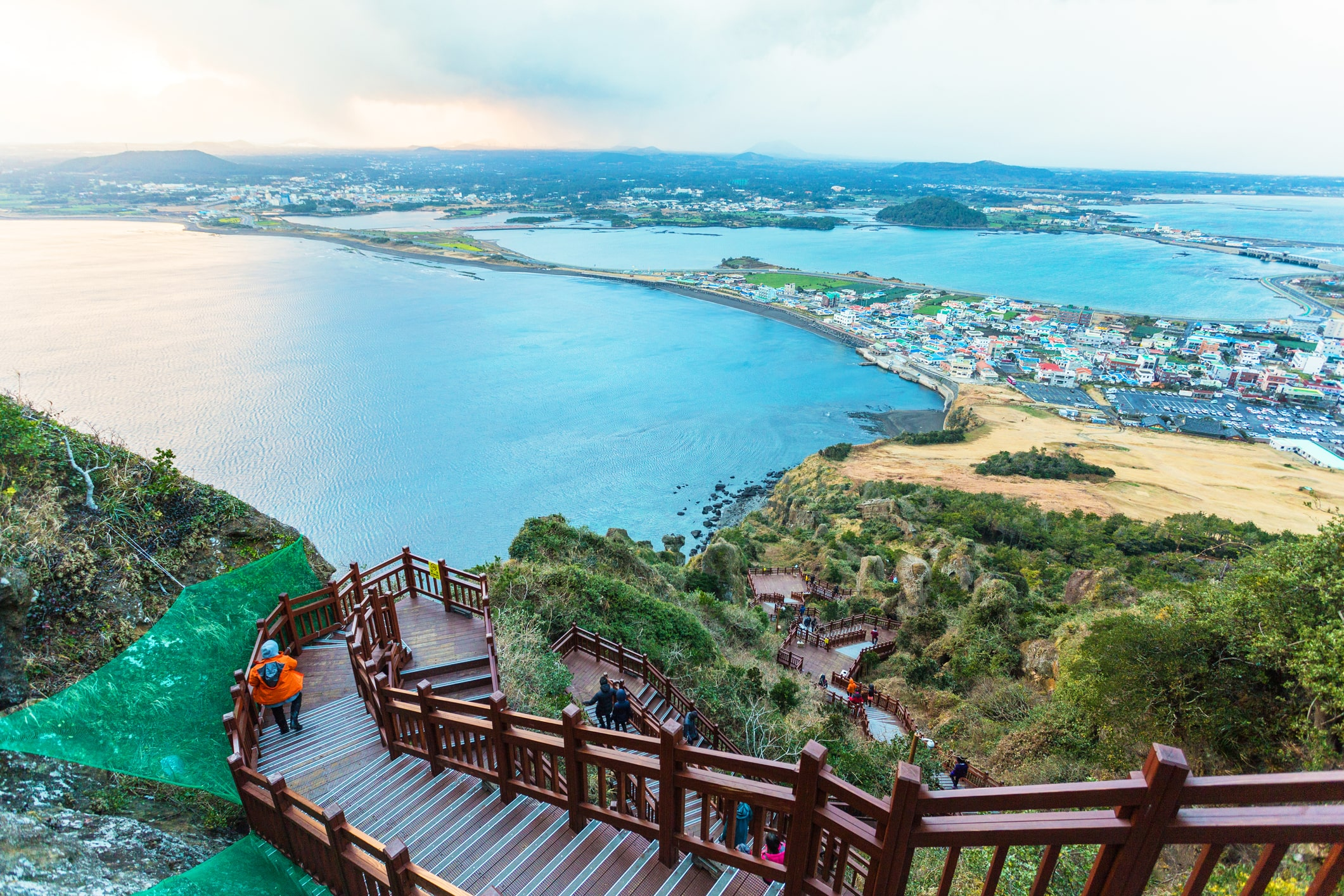 jeju olle trail viewpoint hiking in jeju south korea