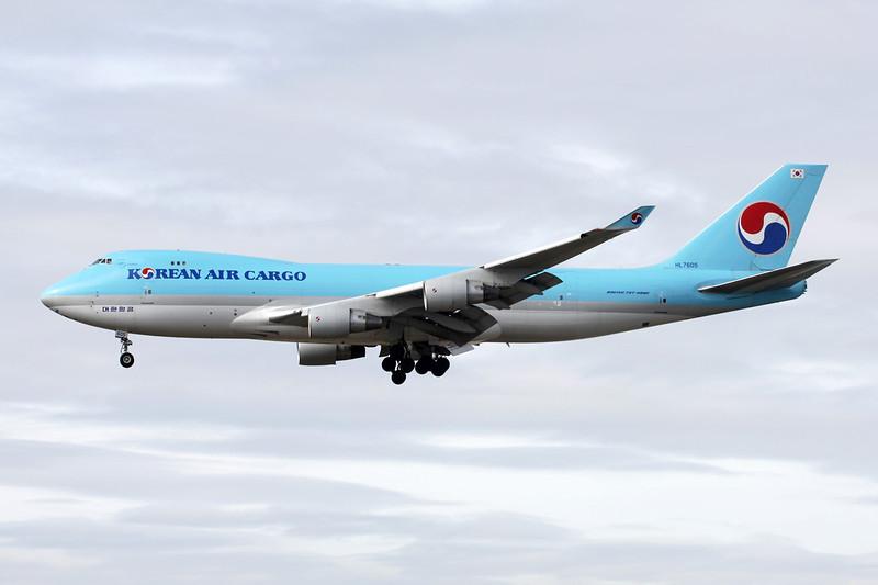 HL7605 Boeing 747-4B5ERF c/n 35526 Frankfurt/EDDF/FRA 14-04-13
