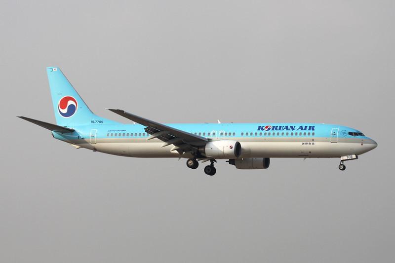 HL7705 Boeing 737-9B5 c/n 29990 Beijing-Capital/ZBAA/PEK 09-11-12