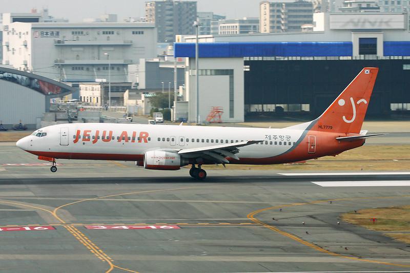 "HL7779 Boeing 737-85F ""Jeju Air"" c/n 28824 Fukuoka/RJFF/FUK 11-01-14"