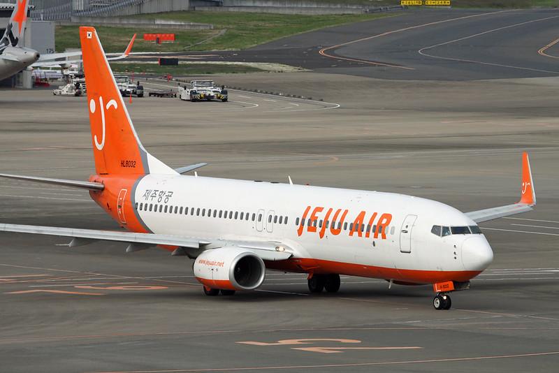 """HL8032 Boeing 737-86J """"Jeju Air"""" c/n 36367 Tokyo-Narita/RJAA/NRT 18-10-17"""