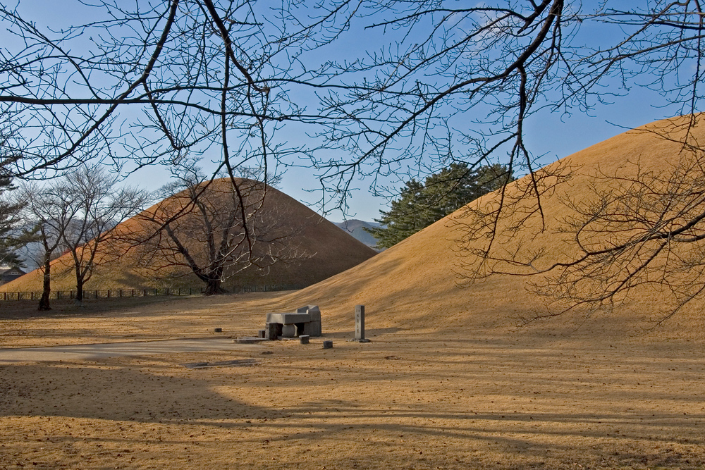 The Burial Mound of King Michu of Silla in Gyeongju, South Korea
