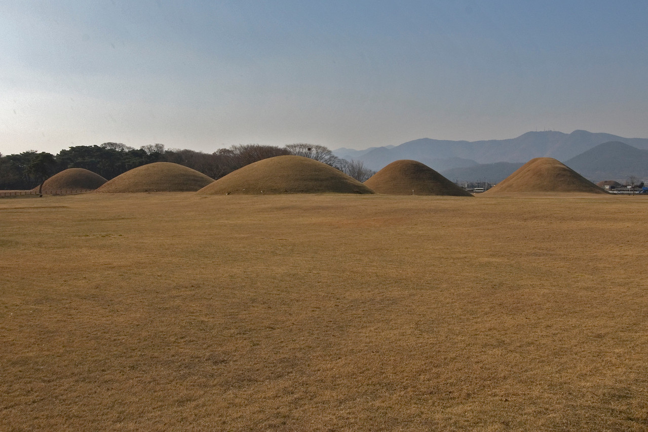 Bokcheon-dong Burial Mounds and Museum in Busan, South Korea