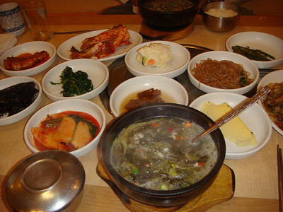 First Meal in Busan, South Korea