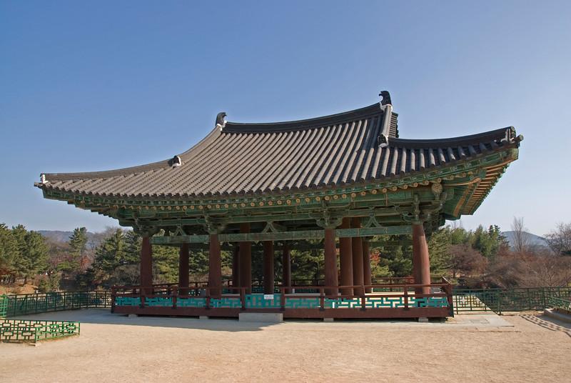 Imhaejeon Site at Gyeongju, South Korea