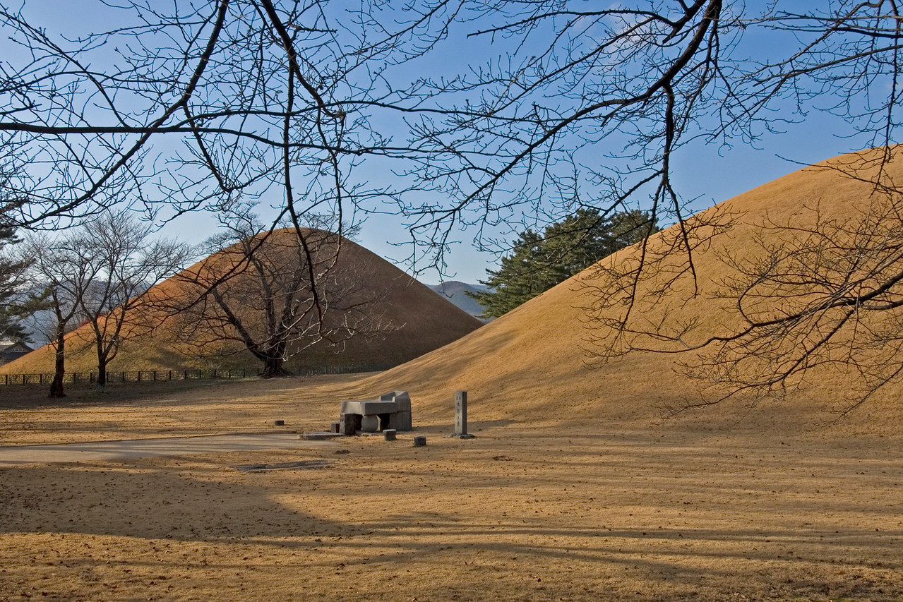 Shrine of King Michu of Silla - Gyeongju, South Korea