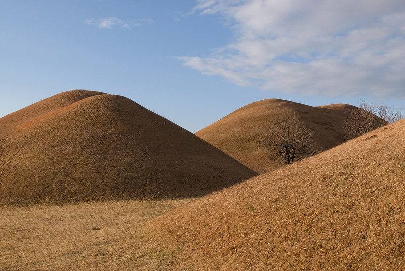 Closer look at Bokcheon-dong Burial Mounds and Museum - Gyeongju, South Korea