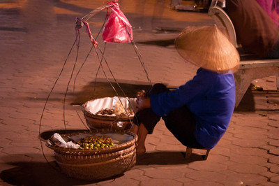 Night Vendor, Hanoi