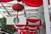 Starbuck's decorated for Lunar New Year
