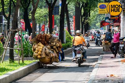 Ho Chi Minh City - street