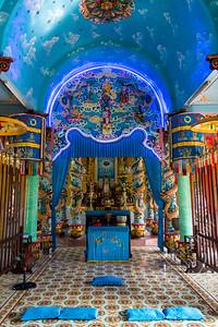 Mekong Delta , Can Guioc - Cao Dai Temple
