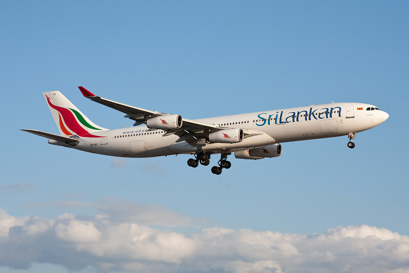 "4R-ADC Airbus A340-311 ""SriLankan Airlines"" c/n 034 Heathrow/EGLL/LHR 17-07-10"