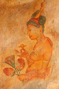 Sigiriya frescoes