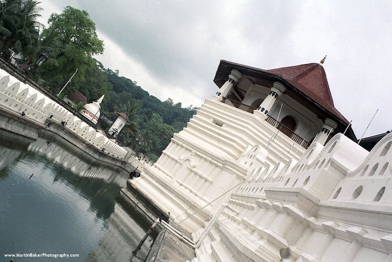 Temple of the Tooth, Kandy, The Hill Country, Sri Lanka.