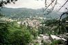Kandy (view from Bahiravakanda Buddha Statue), The Hill Country, Sri Lanka.