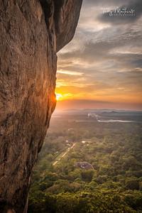 Sigiriya Sunset