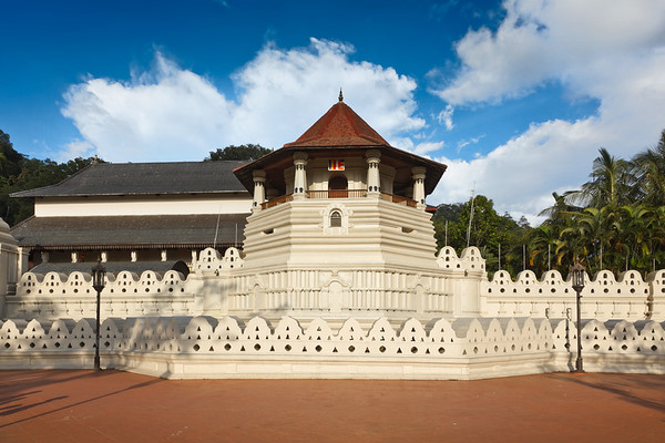 Temple of the Tooth. Sri Lanka