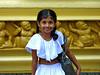 A cute Sri Lankan pre-school student.