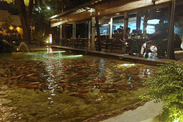 Lagoon Seafood Restaurant, Cinnamon Grand Colombo