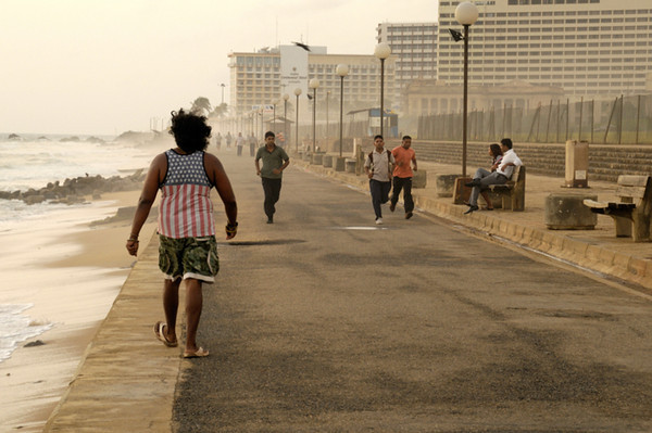 Galle Face Green, Colombo Fort