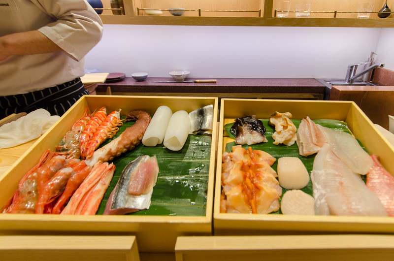 An Omakase Menu Experience: The SUSHI bar at Andaz Tokyo