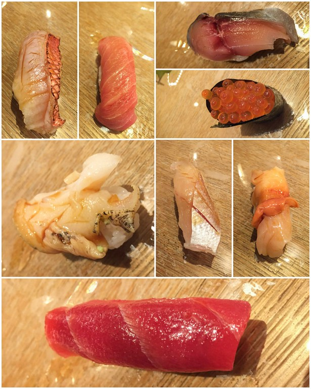The Omakase Menu (Chef's Choice) Sushi in Tokyo