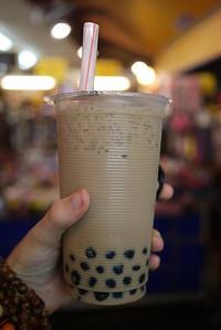 Bubble Tea at street market in Taipei, Taiwan