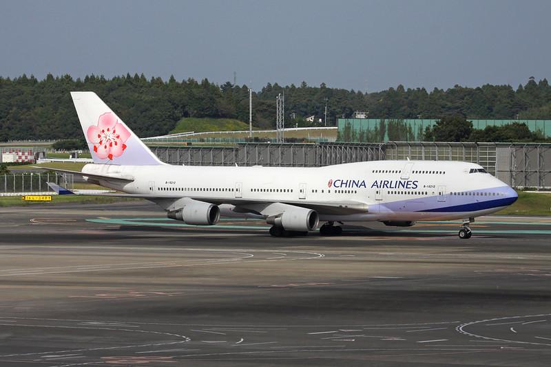 B-18212 Boeing 747-409 c/n 33736 Tokyo-Narita/RJAA/NRT 18-10-17