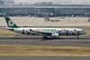 """B-16333 Airbus A330-302X c/n 1274 Tokyo-Haneda/RJTT/HND 09-03-13 """"Hello Kitty"""""""