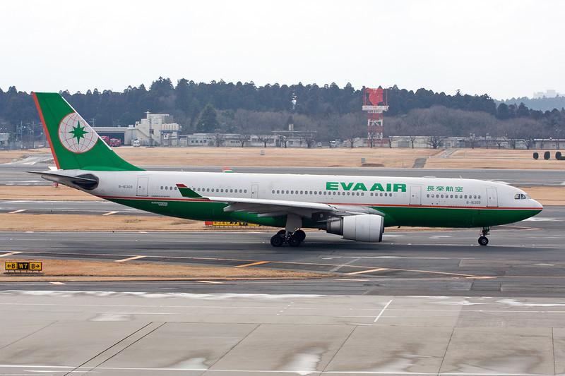 "B-16309 Airbus A330-203 ""EVA Airways"" c/n 661 Tokyo-Narita/RJAA/NRT 24-02-11"