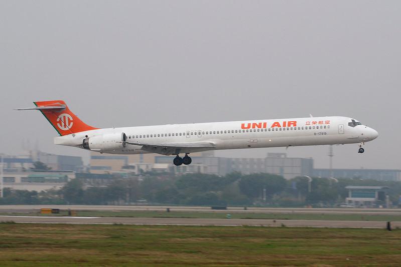 """B-17919 Douglas MD-90-30 """"Uni Air"""" c/n 53569 Guangzhou/ZGGG/CAN 14-11-12"""