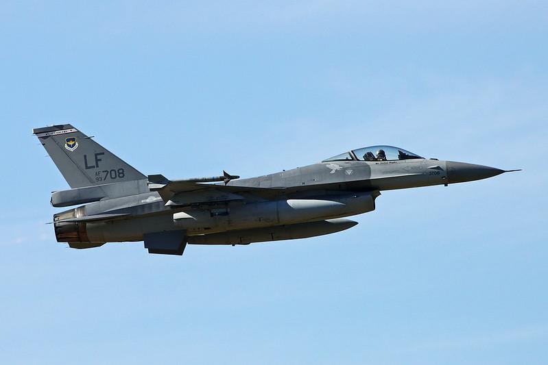 "93-0708 (LF) General Dynamics F-16A Fighting Falcon ""Republic of China Air Force"" c/n TA-7 Luke/KLUF/LUF 15-11-16"
