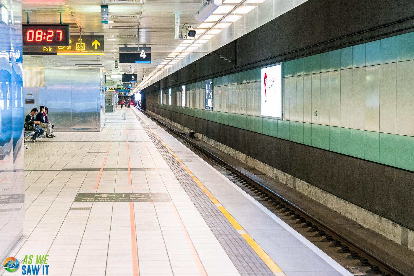 Metro station in Taipei
