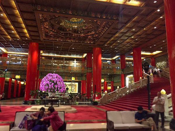 The Lobby of the Grand Hotel Taipei, Places to stay in Taipei