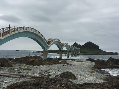 Sanxiantai Arch Bridge, Taiwan East Coast