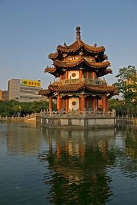 Pagoda in Peace Park - Taipei, Taiwan