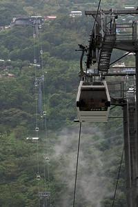 Maokong Gondola at dock in Taipei, Taiwan