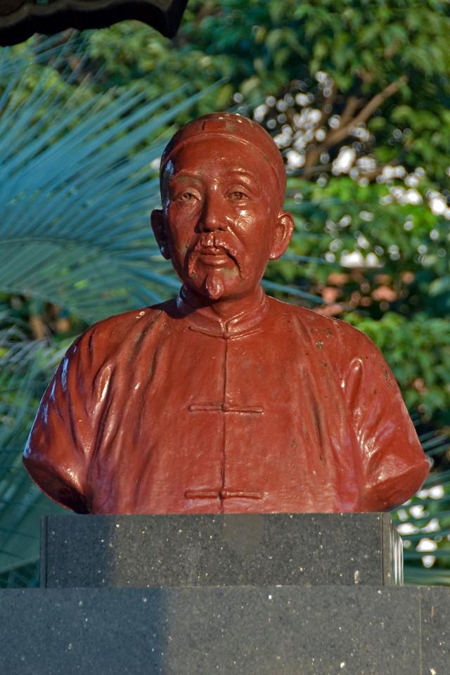 Statue in Peace Park - Tapiei, Taiwan