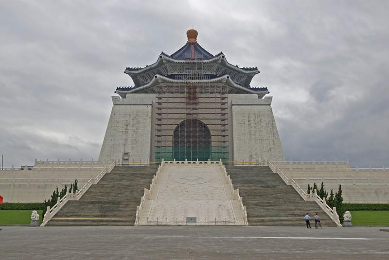 Hall of Democracy inside Chiang Kai-shek Memorial Hall - Taipei, Taiwan