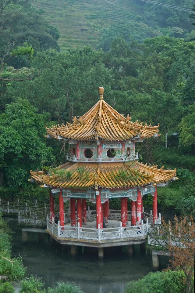 Pagoda near Maokong Gondola - Taipei, Taiwan