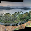 Panoramic from hotel. Made from 5 HDR photos of 5 shots each. 25 photos all together?