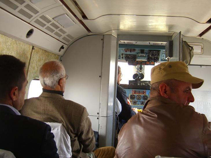 Tajik Air Plane Passengers - Khorog, Tajikistan