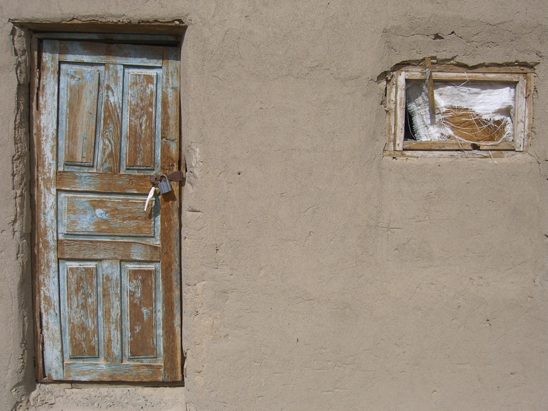 Door and Window - Murghab, Tajikistan
