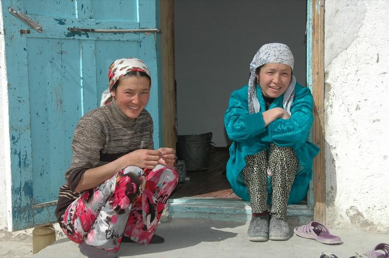 Laughing Kyrgyz Women - Murghab, Tajikistan