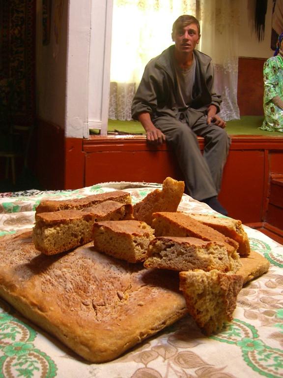 Homemade Bread - Pamir Mountains, Tajikistan