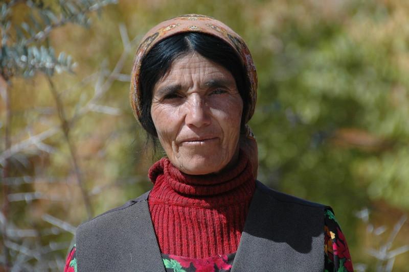 Pamiri Elderly Woman - Vrang, Tajikistan